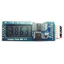 Module dindicateur de carte de Circuit dalarme dalarme de moniteur de batterie daffichage à cristaux liquides de chargerie BM6 2 S 3 S 4 S 5 S 6 S cellule de paquet de vie de LiPo de Li ion