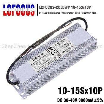 100 W 110 W 120 W 130 W 140 W 150 W LED Driver 10-15Sx10P étanche 3000mA 30-48 V pour alimentation de transformateurs d'éclairage à puce COB