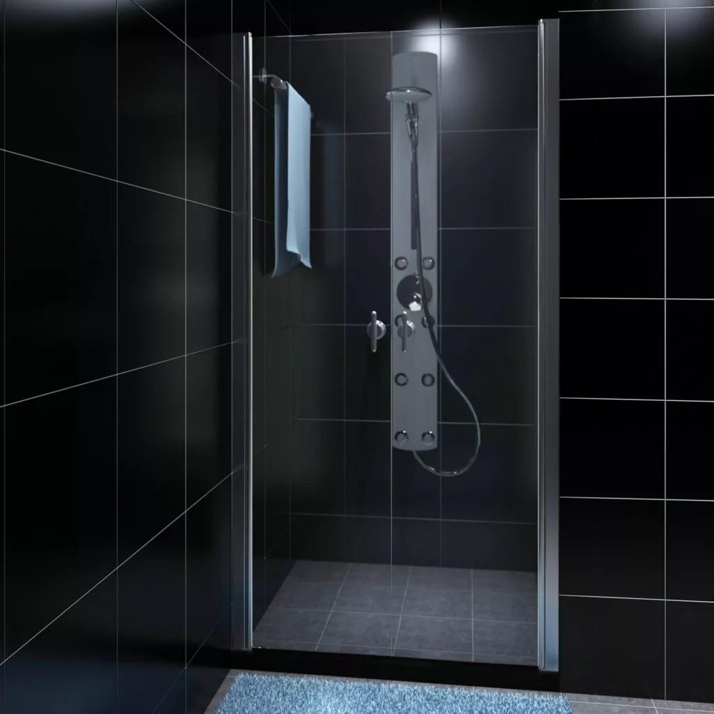 VidaXL Stainless Steel Shower Cabin With Glass Door 80cm Luxury Bathroom Steam Shower Enclosure