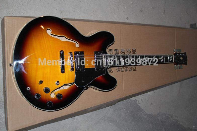 High Quality Classic Semi-Hollow ES335 Jazz Guitar 335  Electric Guitar Musical instruments Best SellingHigh Quality Classic Semi-Hollow ES335 Jazz Guitar 335  Electric Guitar Musical instruments Best Selling