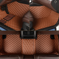 HLFNTF Custom car floor mats for Ford all models focus explorer mondeo fiesta ecosport Everest s max Mustang edg car accessories