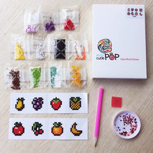 DIY Mini-Patterns Diamond Embroidery Animal Diamond Painting For Children Round Diamond Sticker For Cup, Book, Phone, Decoration animal sticker book