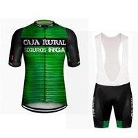 2019 pro team caja landelijke italië power band fietsen jersey kit zomer ademend cyclus doek MTB Ropa Ciclismo Fiets maillot gel-in Wielersport setjes van sport & Entertainment op