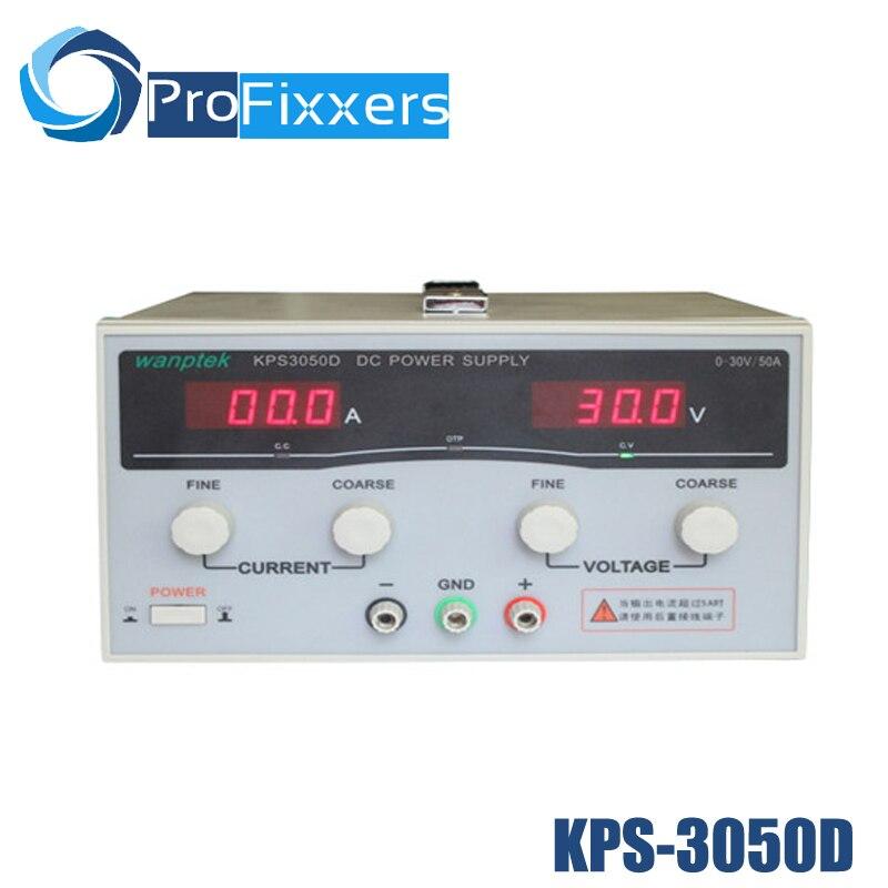 KPS3050D haute précision haute puissance réglable LED double affichage commutation DC alimentation 220 V EU 30 V/50A