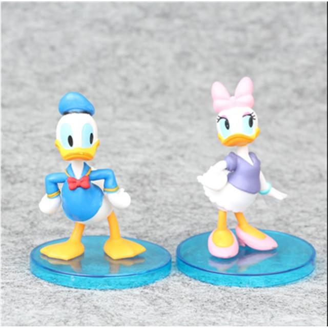 Disney Cute Mickey Mouse Figures 6pcs 9cm