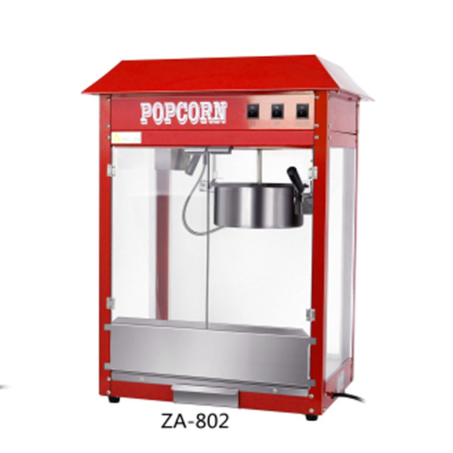 10pcs Za 802 Plus 803 Commercial Popcorn Machine On