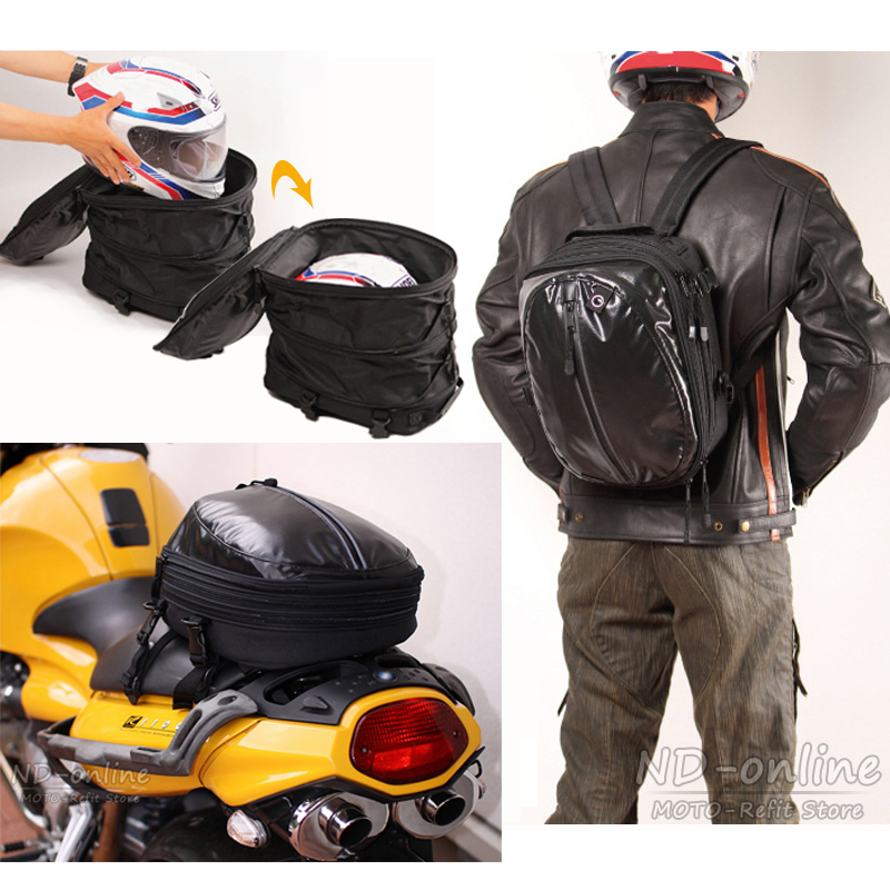 New Multifunction Motorcycle Bag Saddle Bags Waterproof Mochila Moto Racing Backpack Luggage Helmet Travel Tail Bag цены
