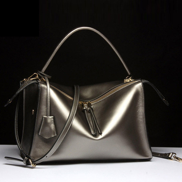 Best Gifts For Women 2016 Part - 48: Best Gifts For Women 2016 New Brand Designer Women Genuine Leather Bags  Fashion 4 Colors Real