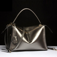Best Gifts For Women 2016 New Brand Designer Women Genuine Leather Bags Fashion 4 Colors Real