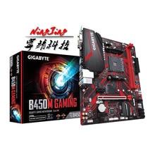 Gigabyte GA B450M juegos (rev Placa base AMD B450 /2 DDR4 DIMM /M.2 /USB3.1/micro atx/Nueva/Max 32G, doble canal AM4, 1,0