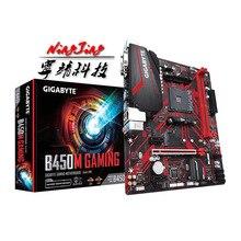 をギガバイトga B450Mゲーム (rev. 1.0) amd B450 /2 DDR4 dimm/M.2 /USB3.1/マイクロatx/新/Max 32GダブルチャンネルAM4マザーボード