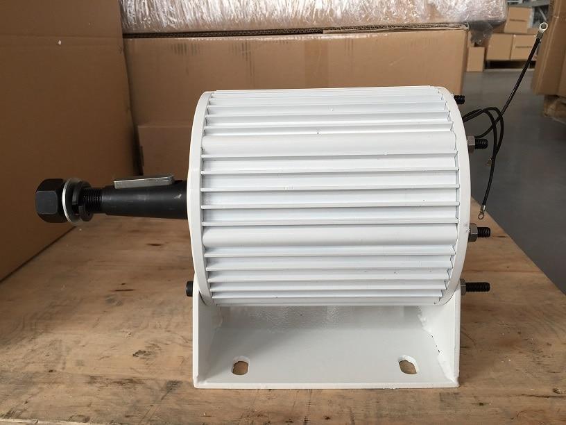 3kw permanent magnet generator low rpm 48v 96v 120v 220v 240v generator