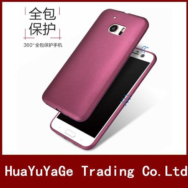 Téléphone Cas X-Niveau Soyeux de luxe TPU Mat Ultra mince retour cas Anti-chute antichoc couverture pour HTC One M8 M9 Plus M10 E9 Plus