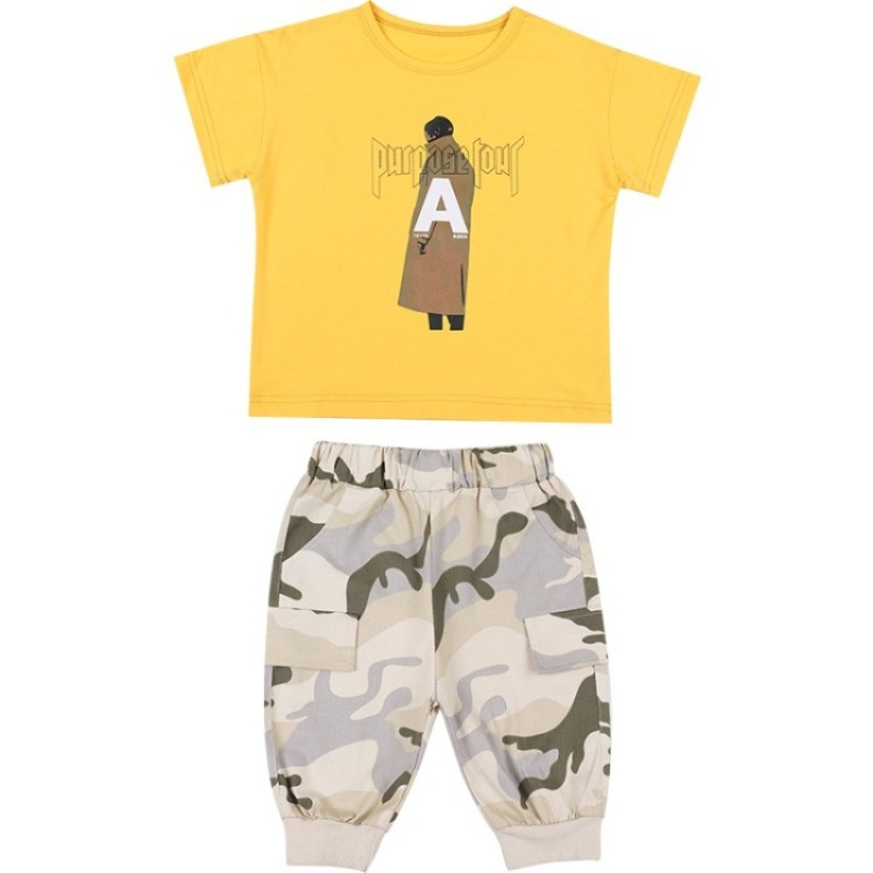 2019 Baby Boys Sets Summer Boys Sets Kid Short Sleeve T Shirt Top and Camouflage Pants Set for Toddler and Baby Boys Clothes2019 Baby Boys Sets Summer Boys Sets Kid Short Sleeve T Shirt Top and Camouflage Pants Set for Toddler and Baby Boys Clothes