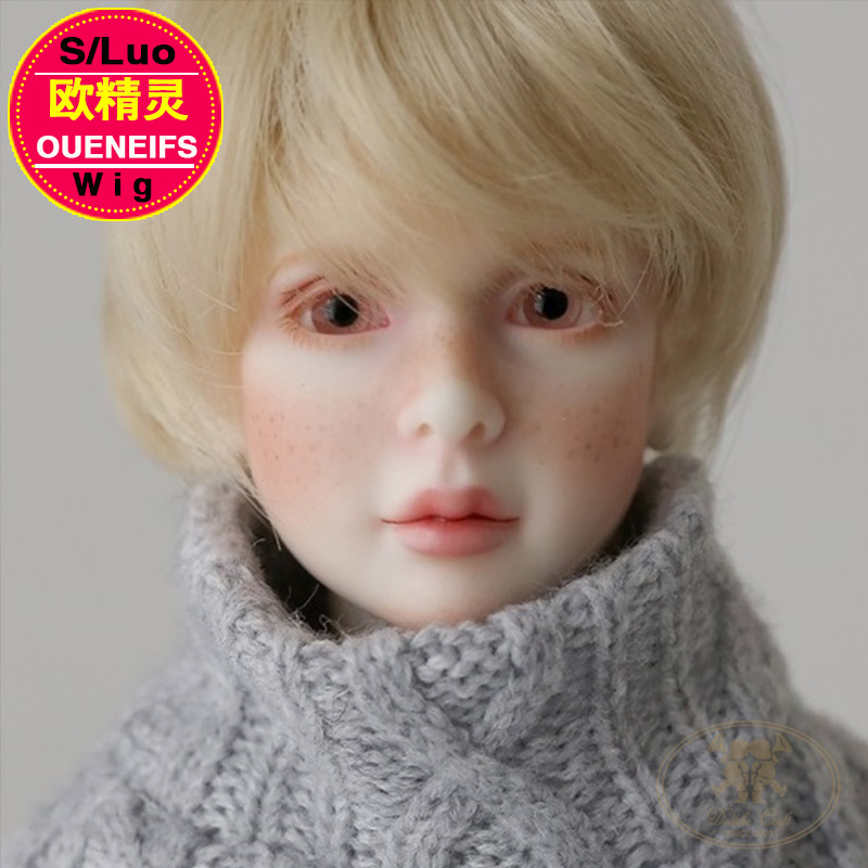 Dollshe Craft shinee robin wig free shipping size 4.5-6 inch high-temperature wig Fid bjd sd doll bob shingle Accessories L04A