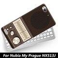 "Para zte nubia my prague nx513j case, joe marca bonito pintura difícil pc celular capa case para zte nubia my praga (5.2 "")"