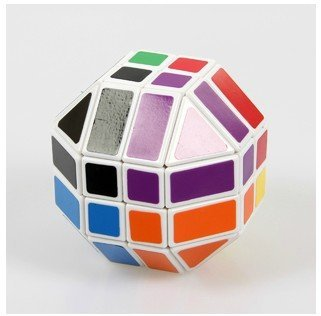 Lanlan 4 x 4 x 4 forma de la bola del rompecabezas del Cubo blanco envío gratis Cubo