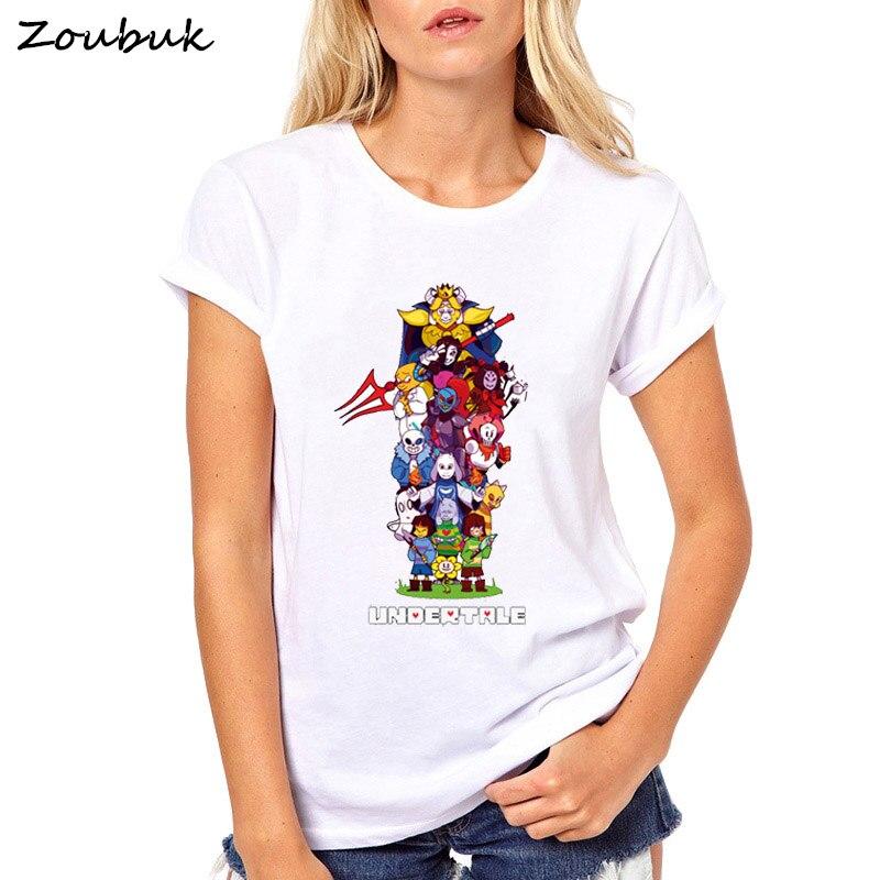 2018 heißer Verkauf Undertale Sans T-shirt Homme Sommer Kurzarm frauen T Shirts Temmie Flakes Camiseta