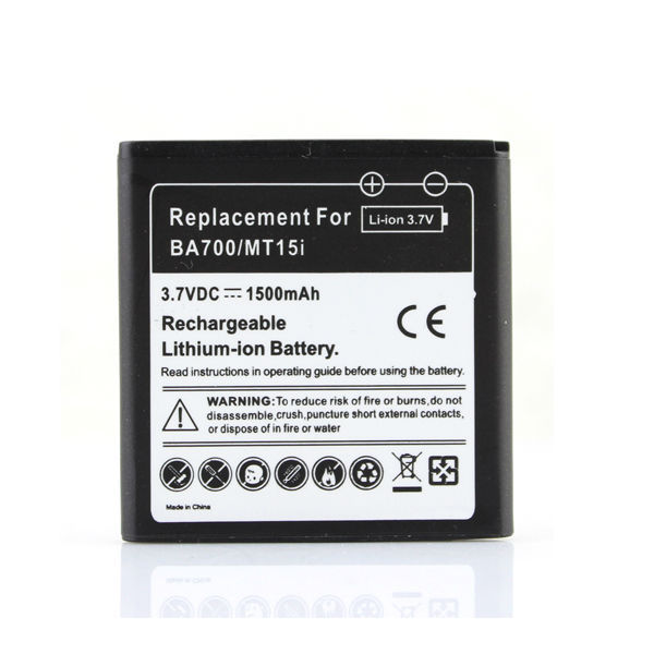 Phone Replacement 1500mah BA700 Battery For Sony Ericsson ST18i MT11i MT15i for Xperia Halon