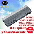 Venta al por mayor nuevos 9 celdas de la batería del ordenador portátil para DELL Latitude E6400 E6500 E8400 E6410 E6510 FU274 FU571 MN632 MP303 PT434 envío gratis