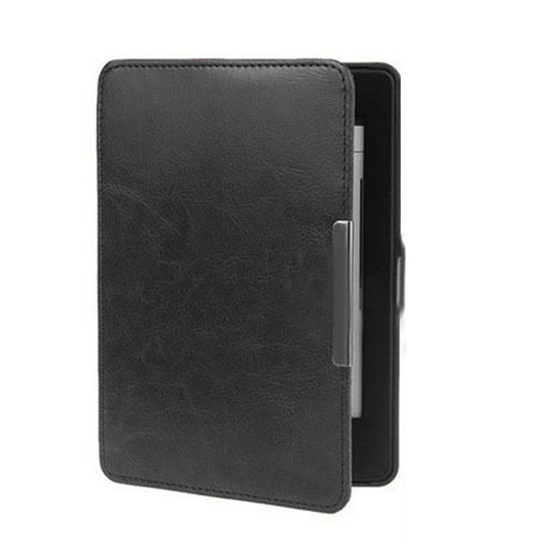 Slim Auto Sleep/Wake Magnetic PU Leather Case Cover for Kindle Paperwhite 1 2 3 black slim leather case smart cover for amazon kindle paperwhite sleep wake crazy horse pattern magnetic buckle leather case