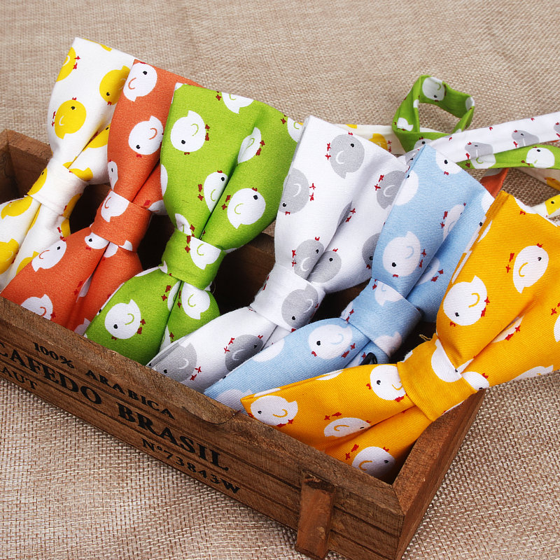 New Hot Cotton Men Animal Bowtie Casual Shirt Bow Tie For Men Women Bowknot Adult Print Cartoon Bow Ties Cravats Wedding Bowties