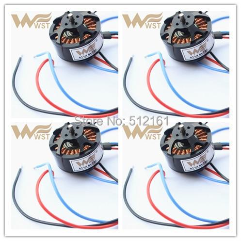 W4114 brushless motor balancing 320KV WESTER WST PRO T810 960 1050 1200 Quadcoper/Hexrcopter/Multirotor 4/6/8axis UVA