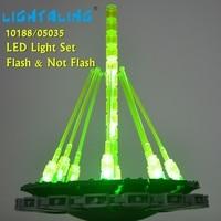 Lightaling LED Set For For Death Star Building War Building Block Bricks Toys Light Compatible With