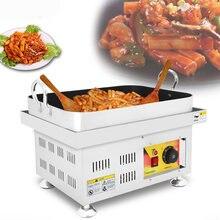 Корейский стиль жареный рисовый торт машина обжаренный Настольный