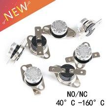 1 шт. KSD301 10A 250 V 40~ 130 градусов Керамика нормально открытый/нормально закрытый Температура переключатель Термостат 40 50 60, 70, 80, 90, 100 110