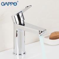 GAPPO Basin Faucet Mixer Chrome Bathroom Basin Mixer Tap Bathroom Taps Torneira Para Banheiro Basin Sink Faucet Hot Cold Faucet