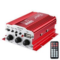 Kinter MA700 IR Control Digital Audio Amplifier 2CH FM MP3 USB Amplificador Car Auto Motorcycle Home Boat Stereo Bass Speaker