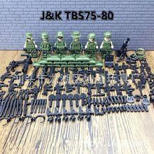 2019 nowy 6 sztuk nowoczesne wojskowe siły zbrojne SWAT Jungle Maze Mini Sences klocki zabawki dla dzieci prezent kompatybilny z Lego tanie tanio Bloki INAZY Samozamykajcy cegły tbs75-80 Unisex can not eat Z tworzywa sztucznego 2014152203012665 Certyfikat 6 lat