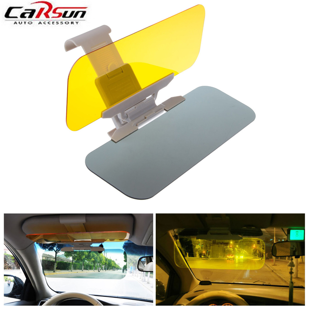 car sunshade 1pc hd car styling car sun visor window block retractable anti dazzle mirror for. Black Bedroom Furniture Sets. Home Design Ideas