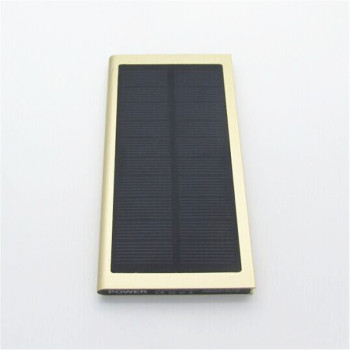 Ultra-thin Solar Power Bank 20000 mAh 1