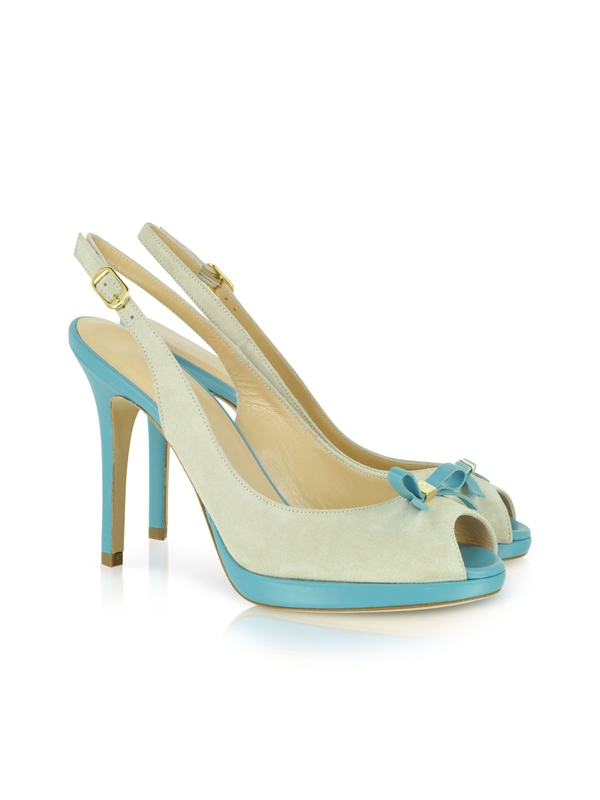Hot Sale New Sandals For Women Slingback Buckle-Strap Butterfly Knot Peep Toe Shoes Thin High Heels Light Pump Sandal