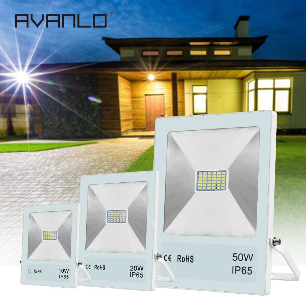 <font><b>LED</b></font> Flood Light IP65 Waterproof <font><b>Led</b></font> 100W 70W 50W 30W 20W <font><b>10W</b></font> 220V <font><b>Led</b></font> Floodlight Spotlight Outdoor <font><b>Led</b></font> <font><b>Reflector</b></font> Floodlights image
