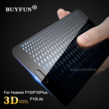 Screen Protector For huawei P10 P10 Lite HD Clear 2.5 D Curved Edge 9 H Anti-Glare Tempered Glass Protective For Huawei P10 plus