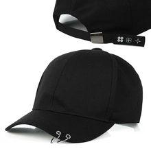 Hami Otwo Embroidery Cotton Cap Baseball Cap casual Snapback Hat Hip Hop  solid black color Cap hats for Men Women cap af3f661ae3d8