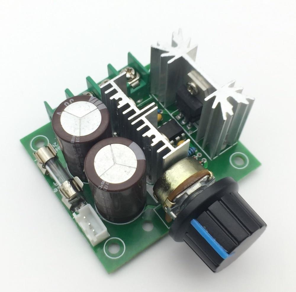 1pcs Width Modulation 12V-40V 10A Pulse PWM DC Motor Speed Control Switch New
