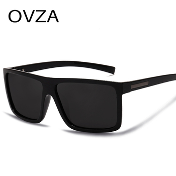 OVZA Polarized Flat Top Designer Sunglasses 1