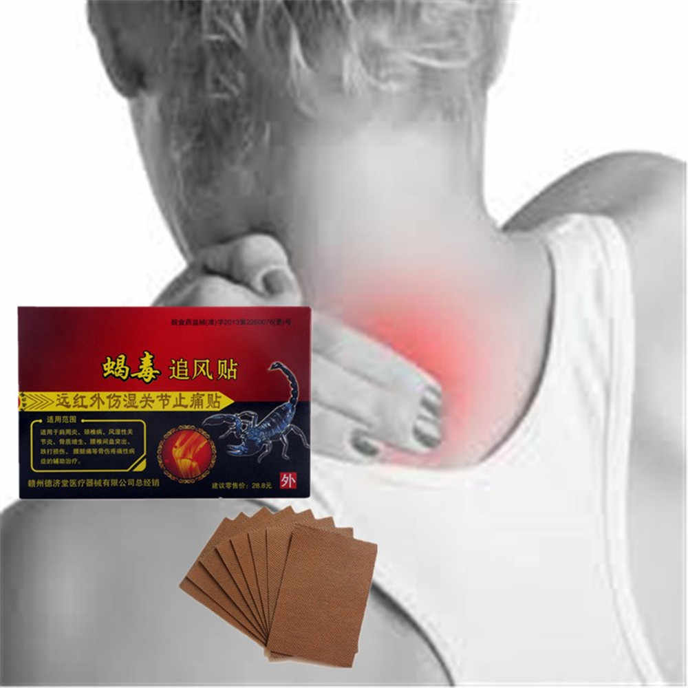 Gold Scorpion Pain Relief Orthopedic Plasters Analgesic Patches Massage Essential Oil Rheumatism Treatment Joint Back Pain Massage Essential Massage Essential Oilessential Oils Aliexpress