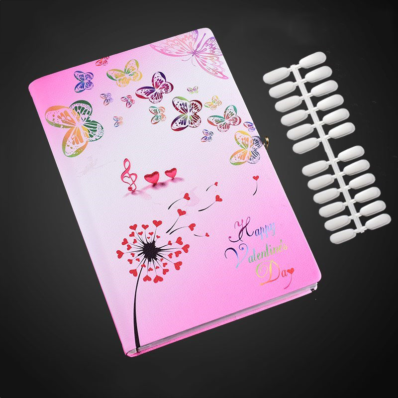 Professional 160 Colors Nail Art Gel Polish Tips Display Card Nails Gel Polish Display Card Book Chart with 160pcs Nail TipsProfessional 160 Colors Nail Art Gel Polish Tips Display Card Nails Gel Polish Display Card Book Chart with 160pcs Nail Tips