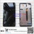 Garantia 100% original display lcd de toque digitador da tela com assembleia quadro para nokia lumia 1320 teste ok