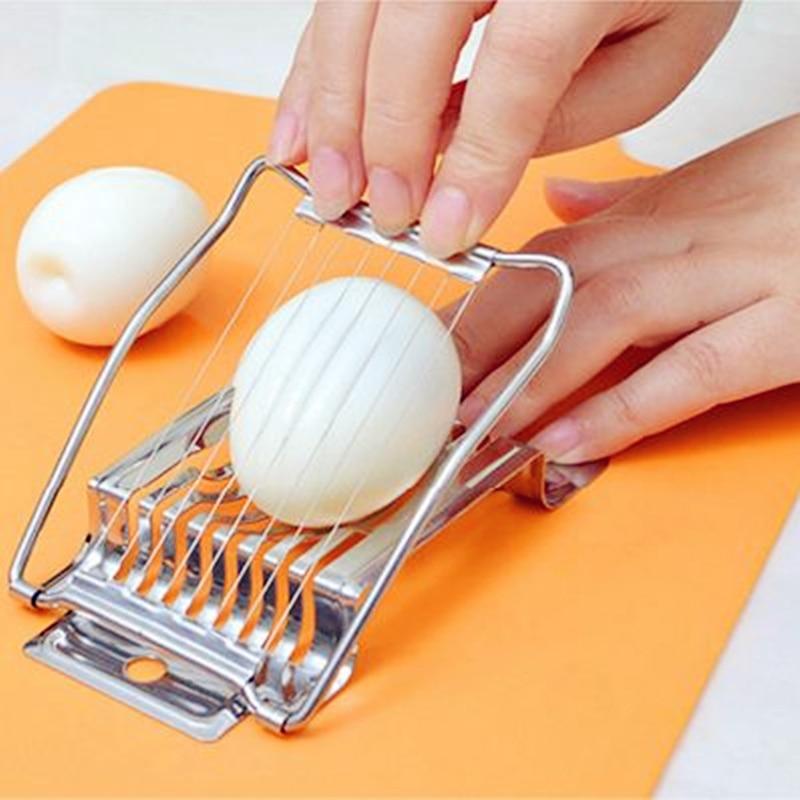 Stainless steel cut egg slicer cut fruit slicer Kitchen tools Kitchen