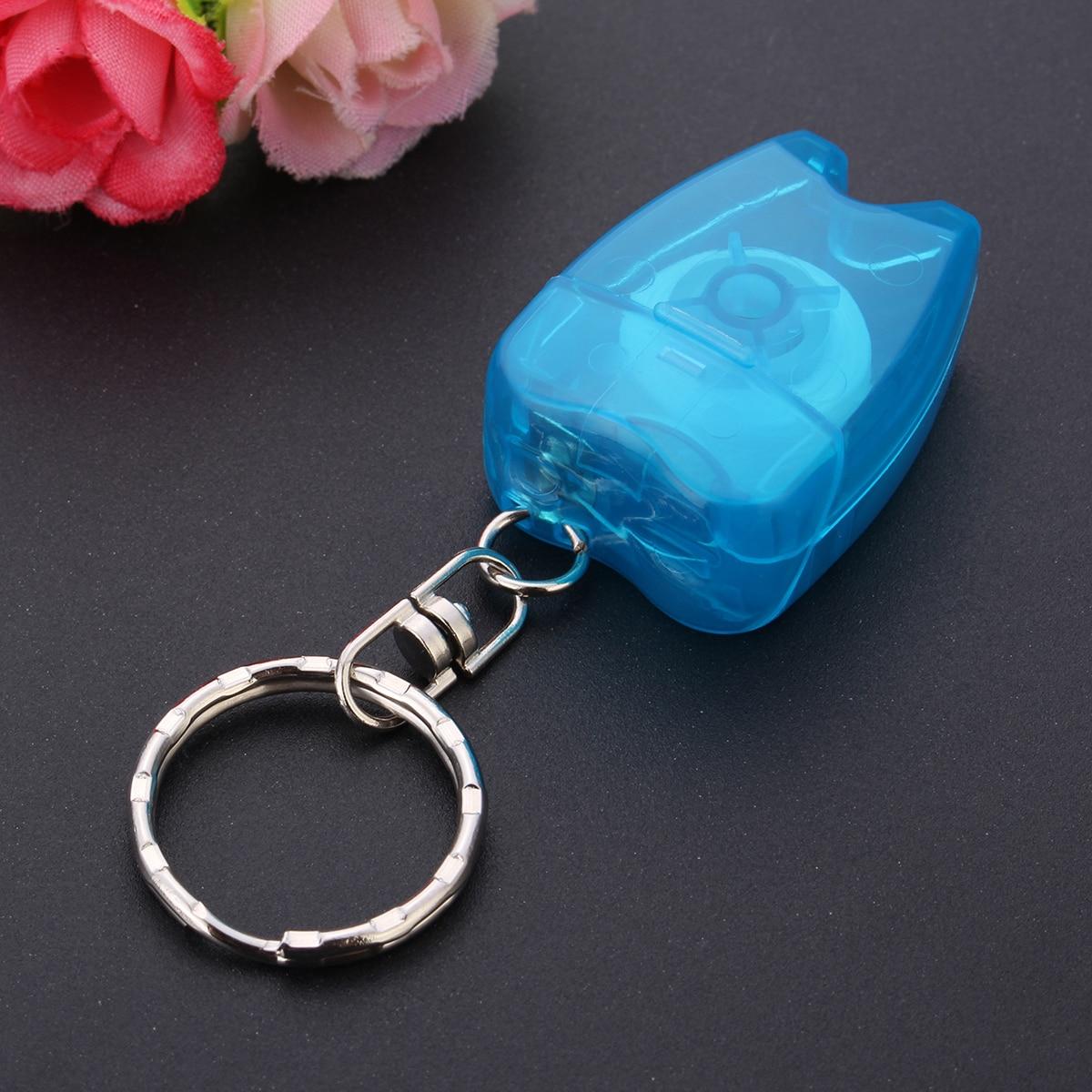 Aktiv 15 Mt Zahn Flosser Schlüsselanhänger Für Zähne Reinigung Oral Care Kit Zahnpflege Mint Duft Bewegliche Mini Geschenk Farbe Zufällig Schönheit & Gesundheit