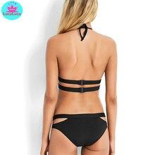 cross straps bikini EL01