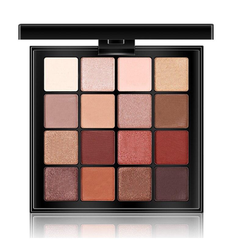 1 pack New Eyeshadow Professional Makeup Smoky Matte Nude