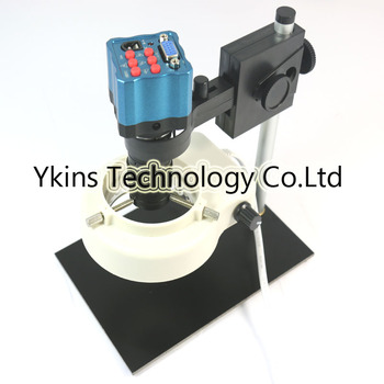 Mini digital microscope optical lens industrial camera 5x-100x magnification with IR remote control VGA output camera