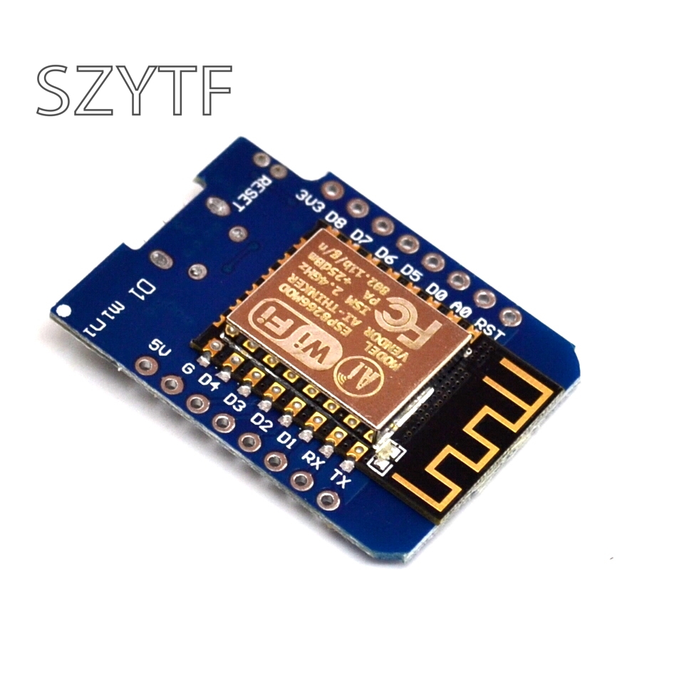 D1 Mini - Mini NodeMcu 4M Bytes Lua WIFI Internet Of Things Development Board Based ESP8266 WeMos